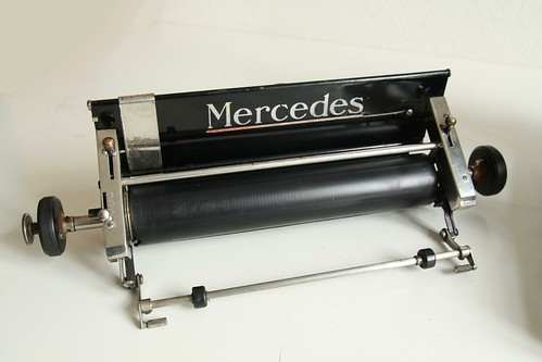 Mercedes No.5 typewriter 3/13