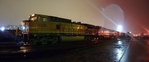Rain at Balmer Yard