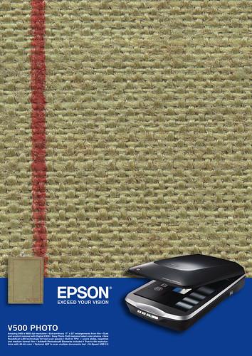 epson V500 photo