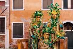 Venice Carnival 2010 (Marco Dian - www.marcodian.com) Tags: carnival venice costumes colors canon eos 350d masks carnaval venetian venise carnevale venezia colori castello 2010 maschere 50mmf18 sestriere venitiens marcodian