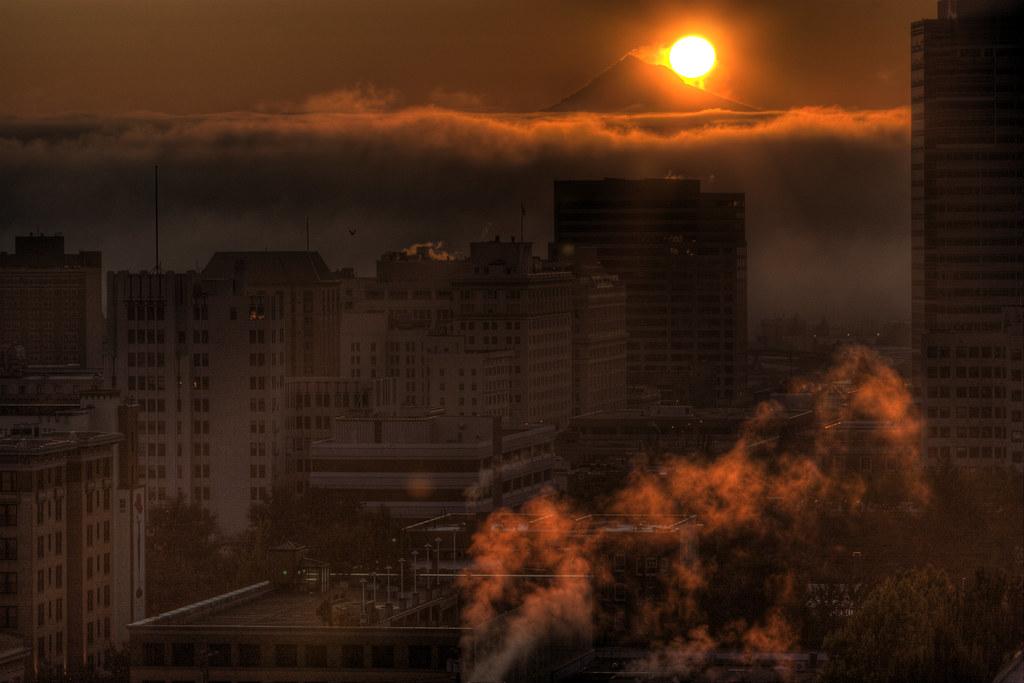 Sunrise of a lifetime