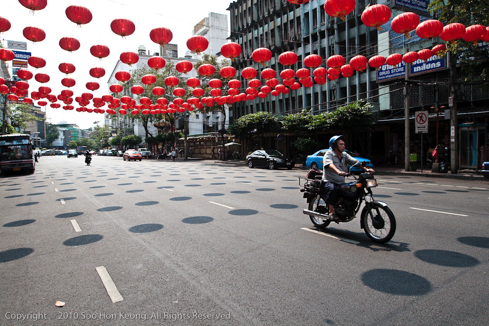 Chinese New Year Decoration @ China Town, Bangkok, Thailand