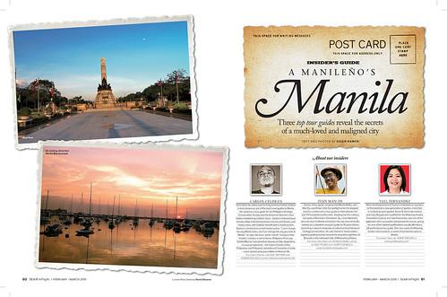 Manila feature on Ivan, Carlos and Yael