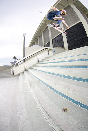 Chris Switch Big Flip Belmont 9 Stair