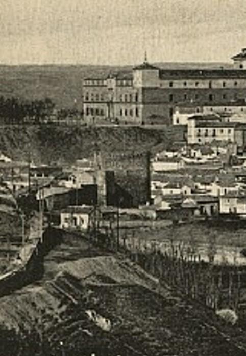 Torre de la Almofala a principios del siglo XX. Foto HAE