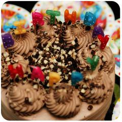 (stOOpidgErL) Tags: birthday cake chocolate 29th cassata stoopidgerl