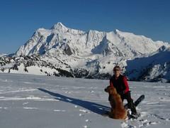 Glorious scenery near Artist's Point - Mt. Shuksan behind. President's weekend 2010