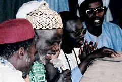 Baabakar Caam leading Sikkar at Daaru Mbittéyeen Gàmmu, 2004