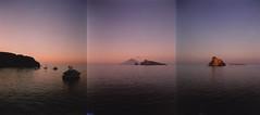Basiluzzo and Stromboli from Panarea (W G H) Tags: eolie stromboli stratovolcano panarea basiluzzo hycesia