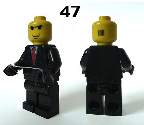 Agent 47 custom minfig
