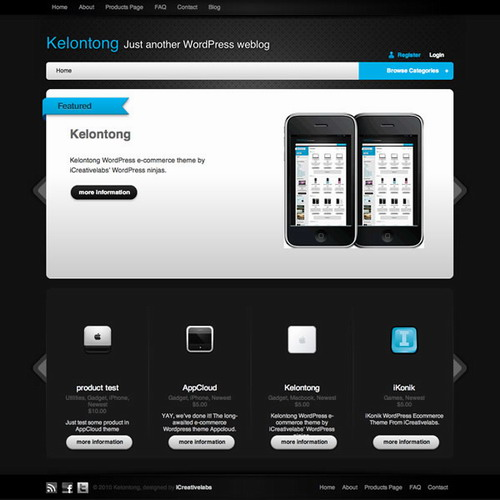 Kelontong   WordPress e Commerce Theme