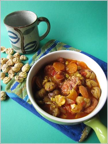 Zuppa di Castagne e Salsiccia Passita