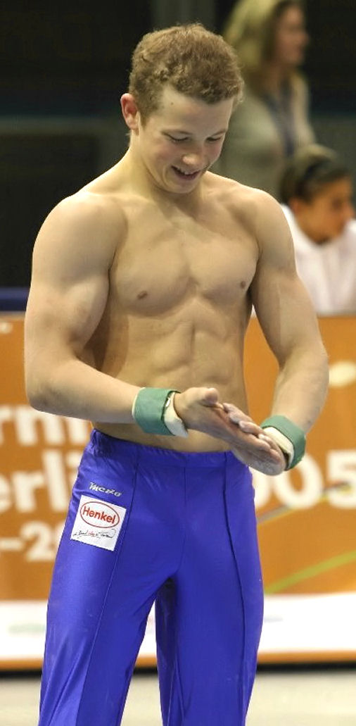 Fabian Hambuechen shirtless