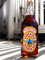 58/365: Newcastle Brown Ale (ajemm) Tags: brown beer canon newcastle shadows cerveza ale fave bier cerveja pint frontporch birra favoritethings bire piwo pivo l olut selectivecolor bere sr theoneandonly g9 scottishnewcastle newkiebrown newcastlefederationbreweries