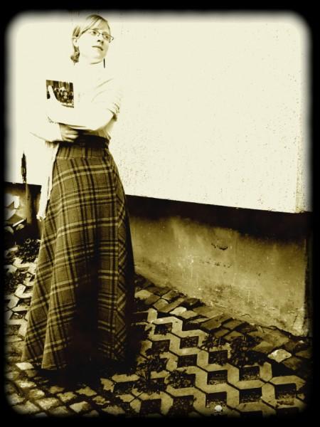 Victorian-inspired skirt