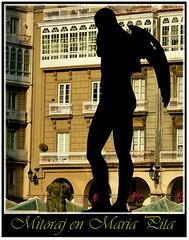 1080-Igor Mitoraj (jl.cernadas) Tags: spain coruña escultura galicia galiza siluetas mitoraj acoruña plazamariapita