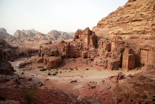 the street of facades, petra