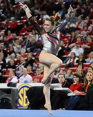 LSU Georgia Gymnastics (Kelly M. Lambert) Tags: usa college dogs ga georgia athens gymnast gymnastics lsu tigers sec gym bulldogs