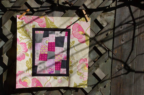 Maple Leaf Quilt Bee - February Block