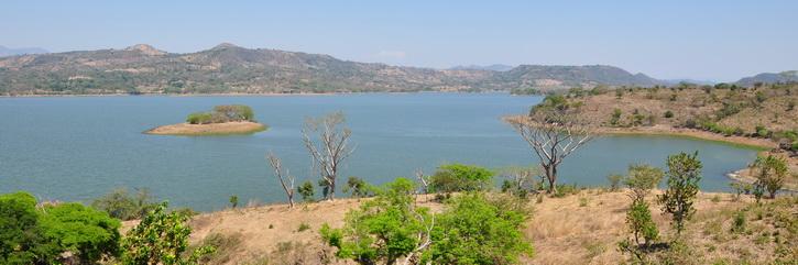 Suchitoto, El Salvador et le lac Suchitlan