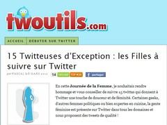 15 twitteuses d'exception