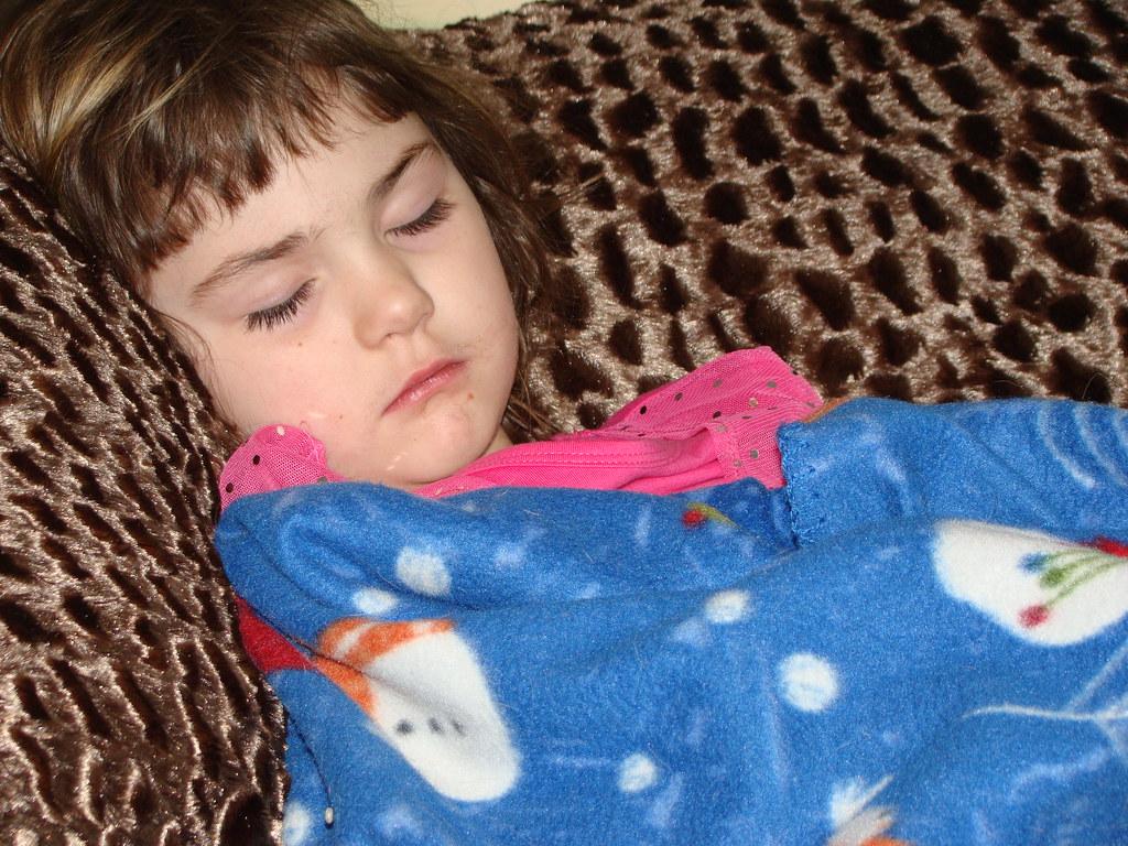 Sleeping Maddie