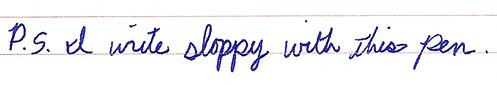 poor penmanship