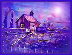 noche de luciernagas (IDIAY) Tags: watercolor stars estrellas acuarela luciernagas