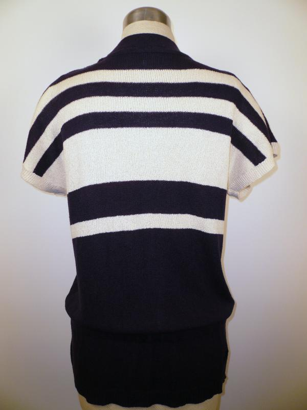 back knit vest