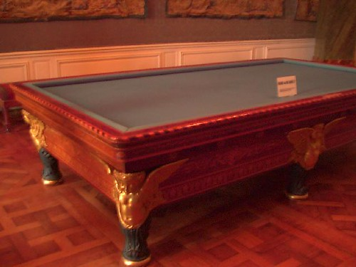 Billiard Table, Chambord