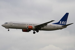 LN-RRS - 28325 - Scandinavian Airlines SAS - Boeing 737-883 - Heathrow - 080318 - Steven Gray - IMG_1005