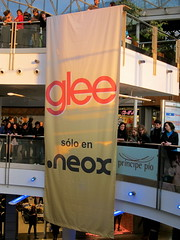 Glee sólo en Neox... y en fox, series yonkis, ...