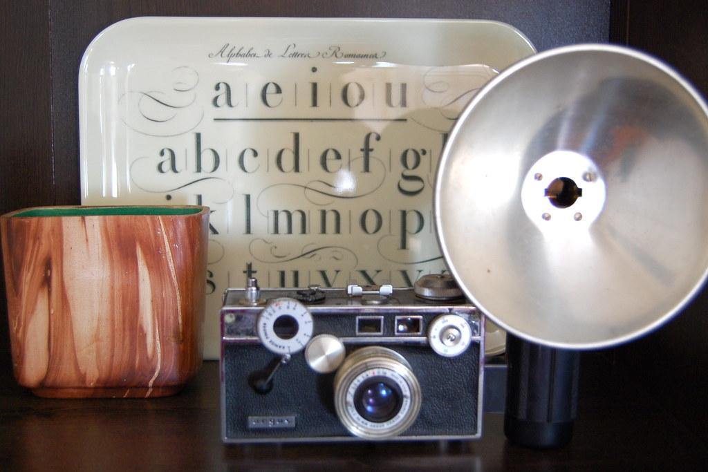 thrifted camera