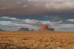 Monument Valley driving (DC Products) Tags: arizona butte desert roadtrip monumentvalley ontheroad monoliths 2010