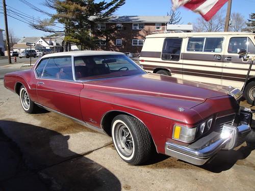 1973 Buick Riviera Boattail. 1973 Buick Riviera