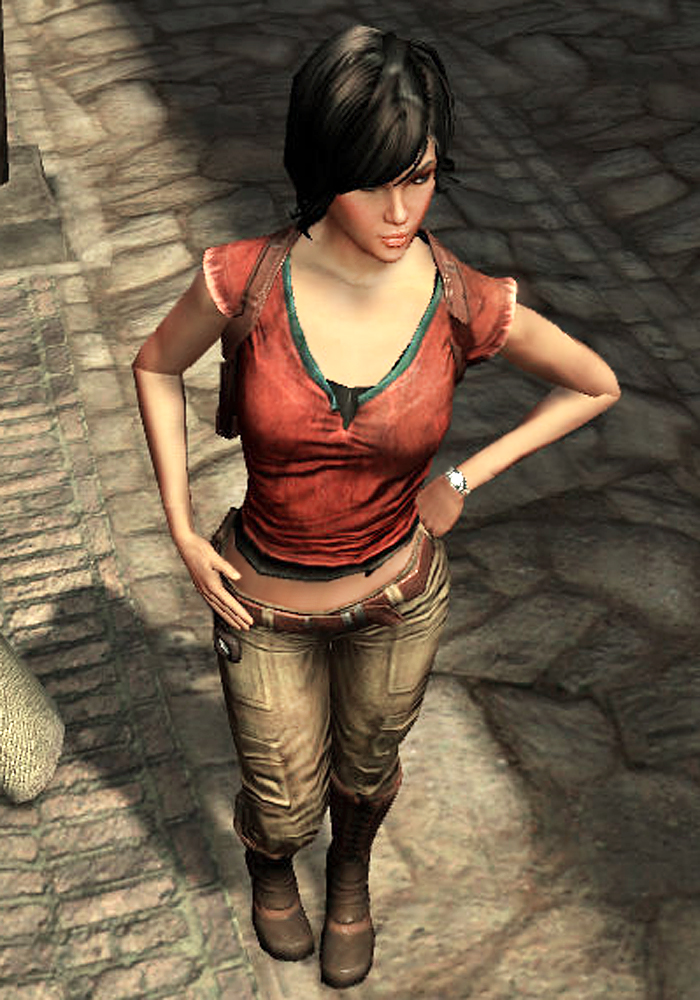 Uncharted 3 Chloe Hot The gallery for -->...