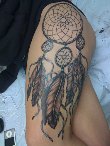 dreamcatcher tattoos. Dreamcatcher Tattoo