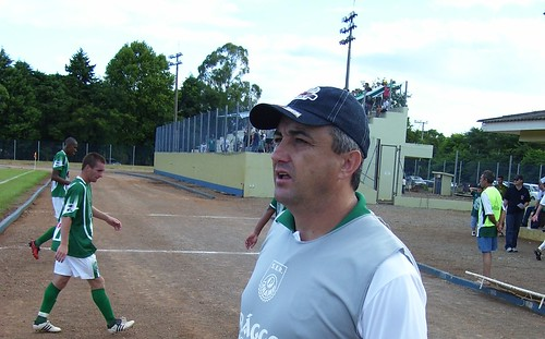 Gelson Conte comanda a boa campanha do Panambi, líder da Chave 2. Crédito: Divulgação