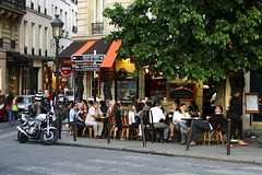 Paris Corner (nina's clicks) Tags: travel paris france bar corner canon restaurant cafe stlouis moto ilestlouis parisstreet theunforgettablepictures pariscorner
