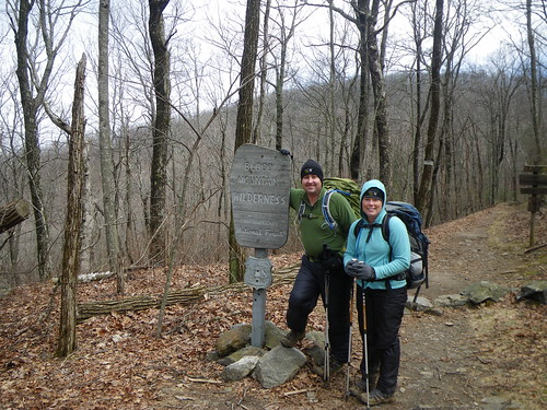 Chris & Misti @ Blood Mountain Wilderness