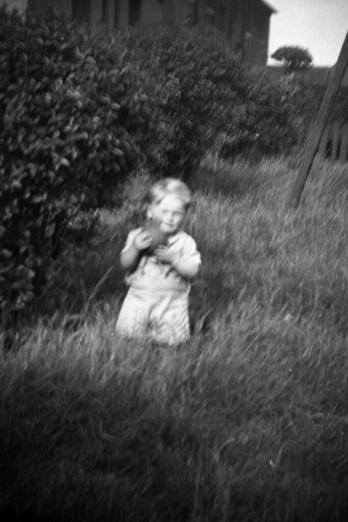 Billy Ross, Waterside, Kirkintilloch, 1958.