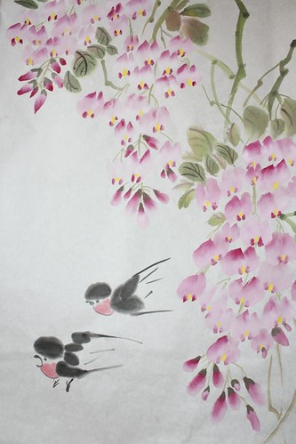 jimmie's painting wisteria