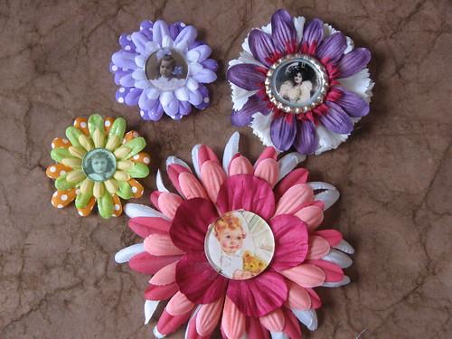 Flower Pin 007