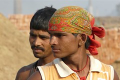 Workers in the Brickfields on Ganges, Khagaul Aera, Bihar (Sekitar) Tags: portrait india man male brick workers ganges aera bihar patna sekitar brickfields earthasia memorycornerportraits khagaul sekitar