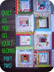 quilt as you go |quilt-along| part two