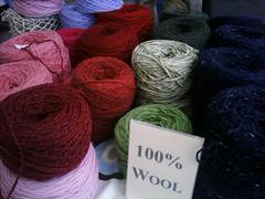 Lã 100% reciclada