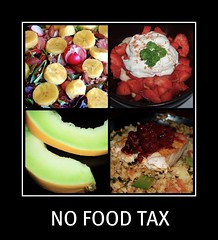 No Food Tax - SMILE!