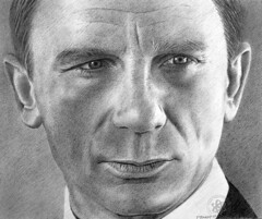 Daniel Craig (pbradyart) Tags: portrait bw art pencil movie star sketch artwork drawing 007 pencildrawing danielcraig filmstardrawing danielcraigpencildrawing danielcraigportrait danielcraigdrawing jamesbonddrawing