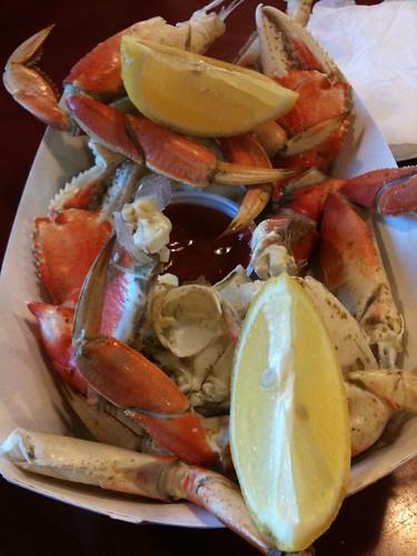Dungeness crab @ Fishermen's Wharf