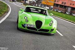 Wiesmann MF5 GT - Nr. 41 (Keno Zache) Tags: auto green beauty car festival canon germany deutschland eos manufaktur spring power ride d sigma 400 gt 18200 rare wiesmann keno wagen powerfull mf5 dlmen 400d zache eos400d